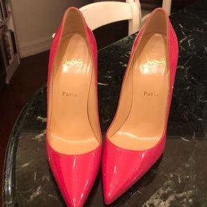Christian Louboutin  pink So Kate heels